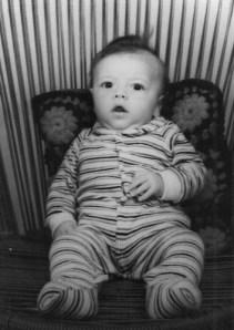 Eu, Anderson, quando bebê!!
